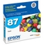 Original Epson 87 Cyan Inkjet Cartridge (T087220)