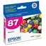Original Epson 87 Magenta Inkjet Cartridge (T087320)