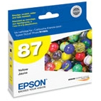 Original Epson 87 Yellow Inkjet Cartridge (T087420)
