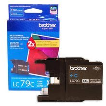 Brother LC79C Cyan OEM Ink Cartridge, High-Yield
