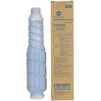TN510C Cyan Toner for Konica Minolta