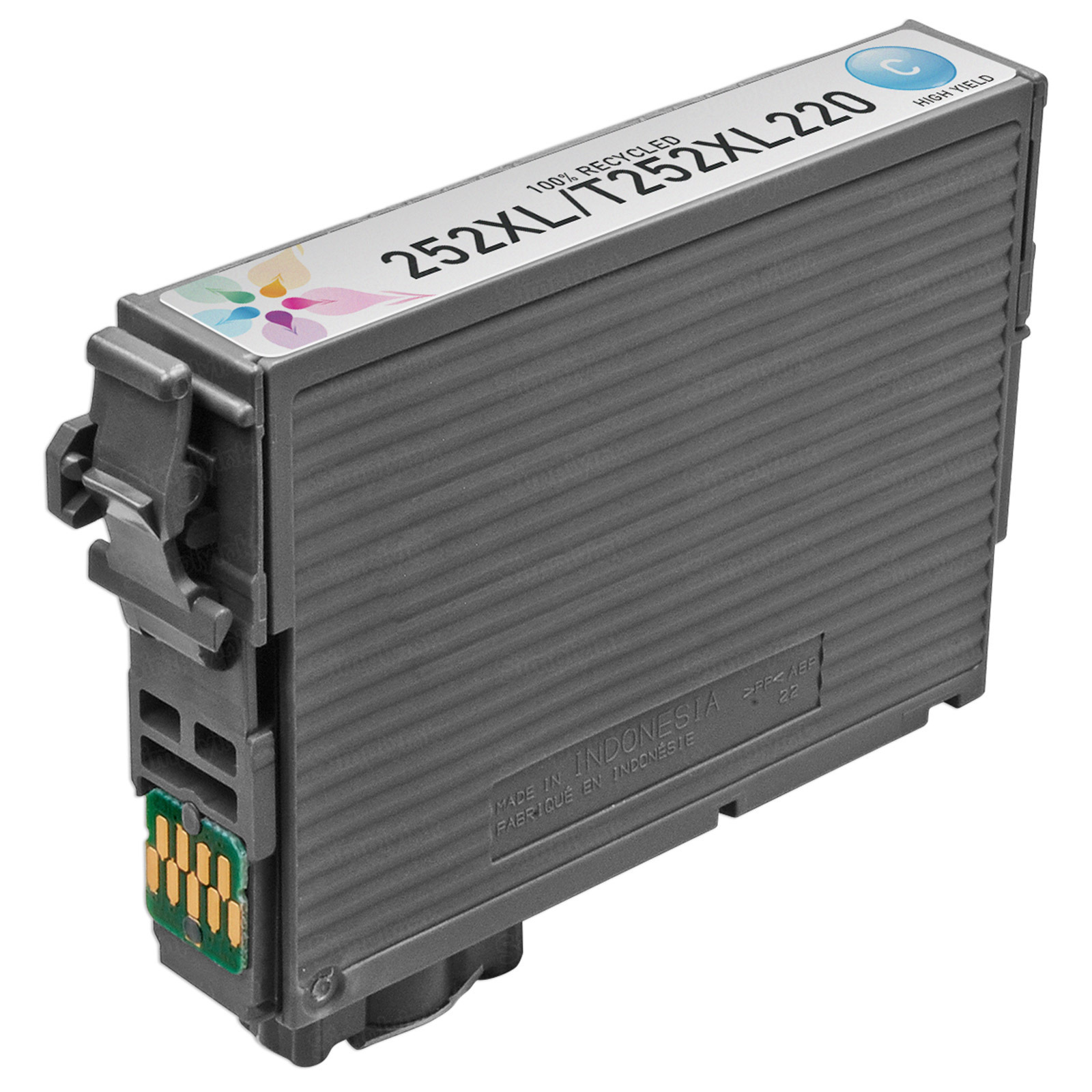 Epson Remanufactured 252XL HY Cyan Inkjet Cartridge
