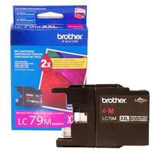Brother LC79M Magenta OEM Ink Cartridge, High-Yield