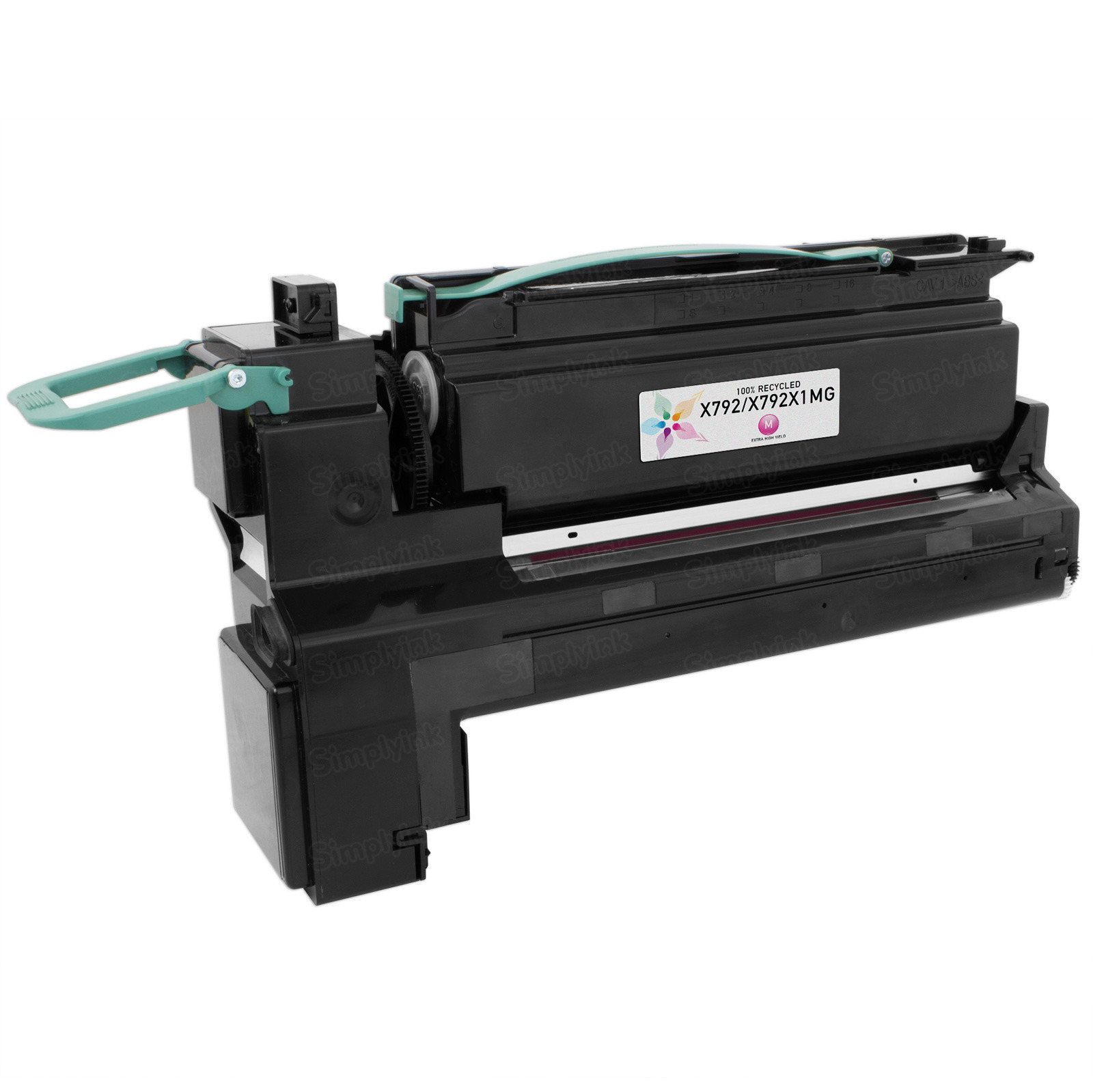 Lexmark Remanufactured Extra HY Magenta Toner, X792X1MG (X792)
