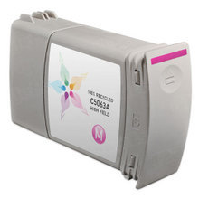 Remanufactured Replacement Ink Cartridge for Hewlett Packard C5063A (HP 90) High-Yield Magenta