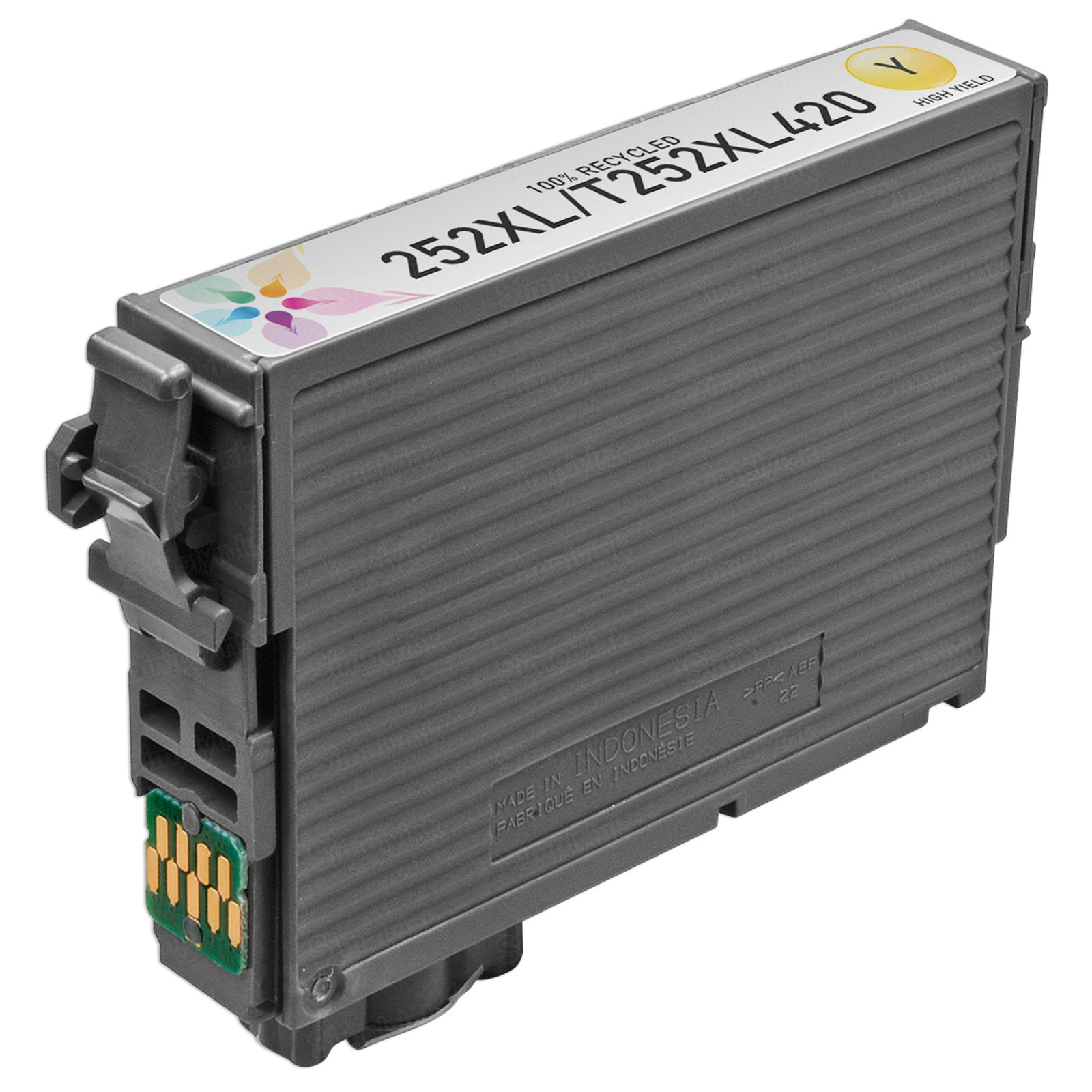 Epson Remanufactured 252XL HY Yellow Inkjet Cartridge