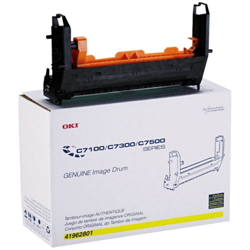 OEM Okidata Type C4 Yellow Drum