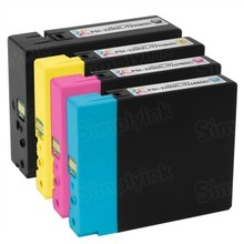 Canon PGI-2200XL Compatible 4 Pack : 1 Black, Cyan, Magenta, Yellow