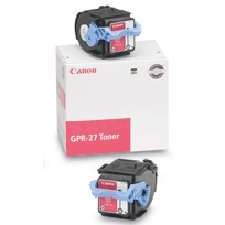 Canon GPR-27 (6,000 Pages) High Yield Magenta Laser Toner Cartridge - OEM 9643A008AA