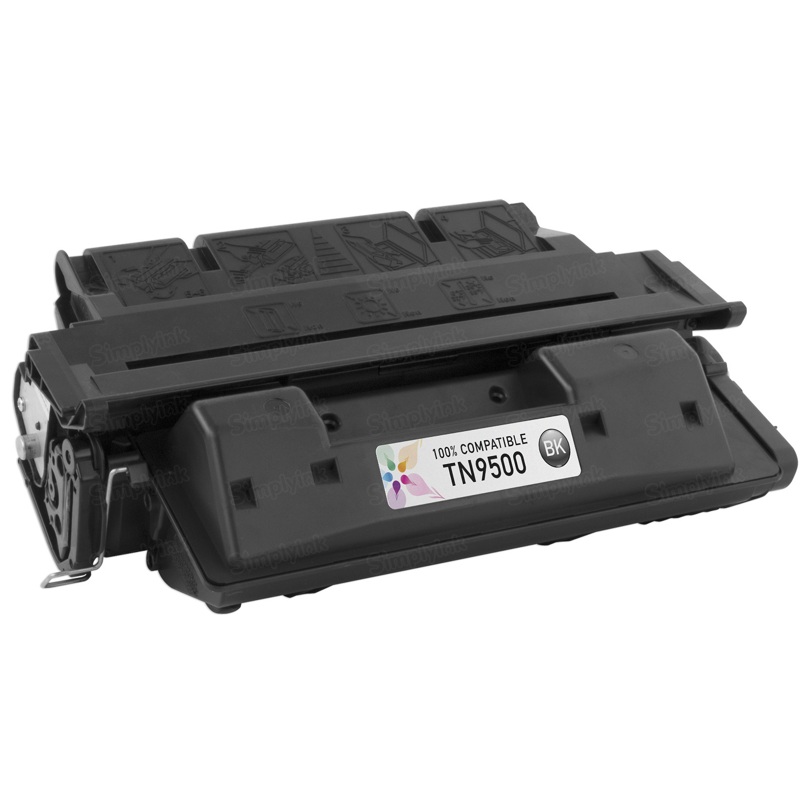 Remanufactured Brother TN9500 Black Laser Toner