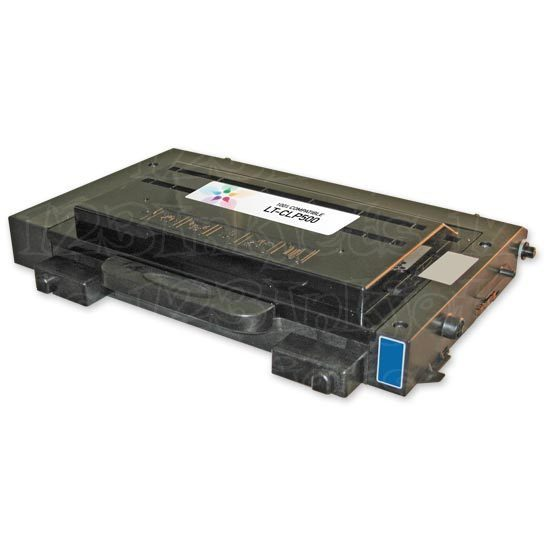 Remanufactured CLP-500 & CLP-550 Cyan Toner for Samsung (CLP-500D5C)