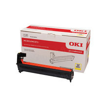 OEM Yellow Laser Drum Cartridge (30,000 Pages) for Okidata 44844469 - MC853/873