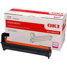 OEM Magenta Laser Drum Cartridge (30,000 Pages) for Okidata 44844470 - MC853/873