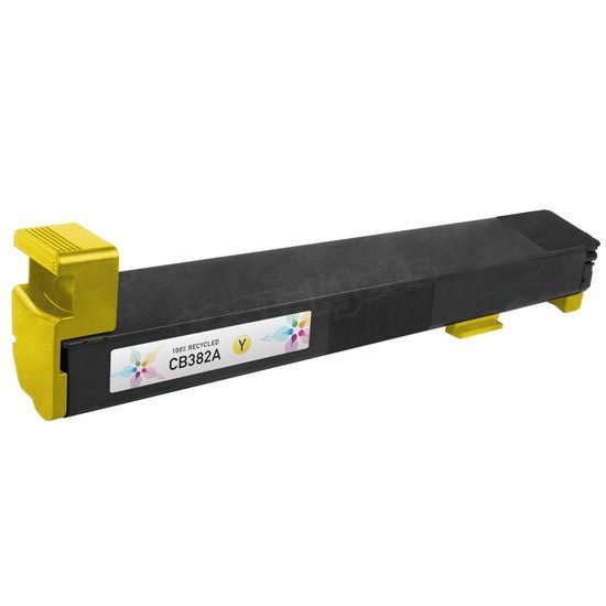 Remanufactured Replacement Yellow Laser Toner for HP 824A