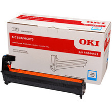 OEM Cyan Laser Drum Cartridge (30,000 Pages) for Okidata 44844471 - MC853/873