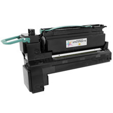 Lexmark Remanufactured Extra High Yield Yellow Laser Toner Cartridge, X792X1YG (X792), 20K Page Yield