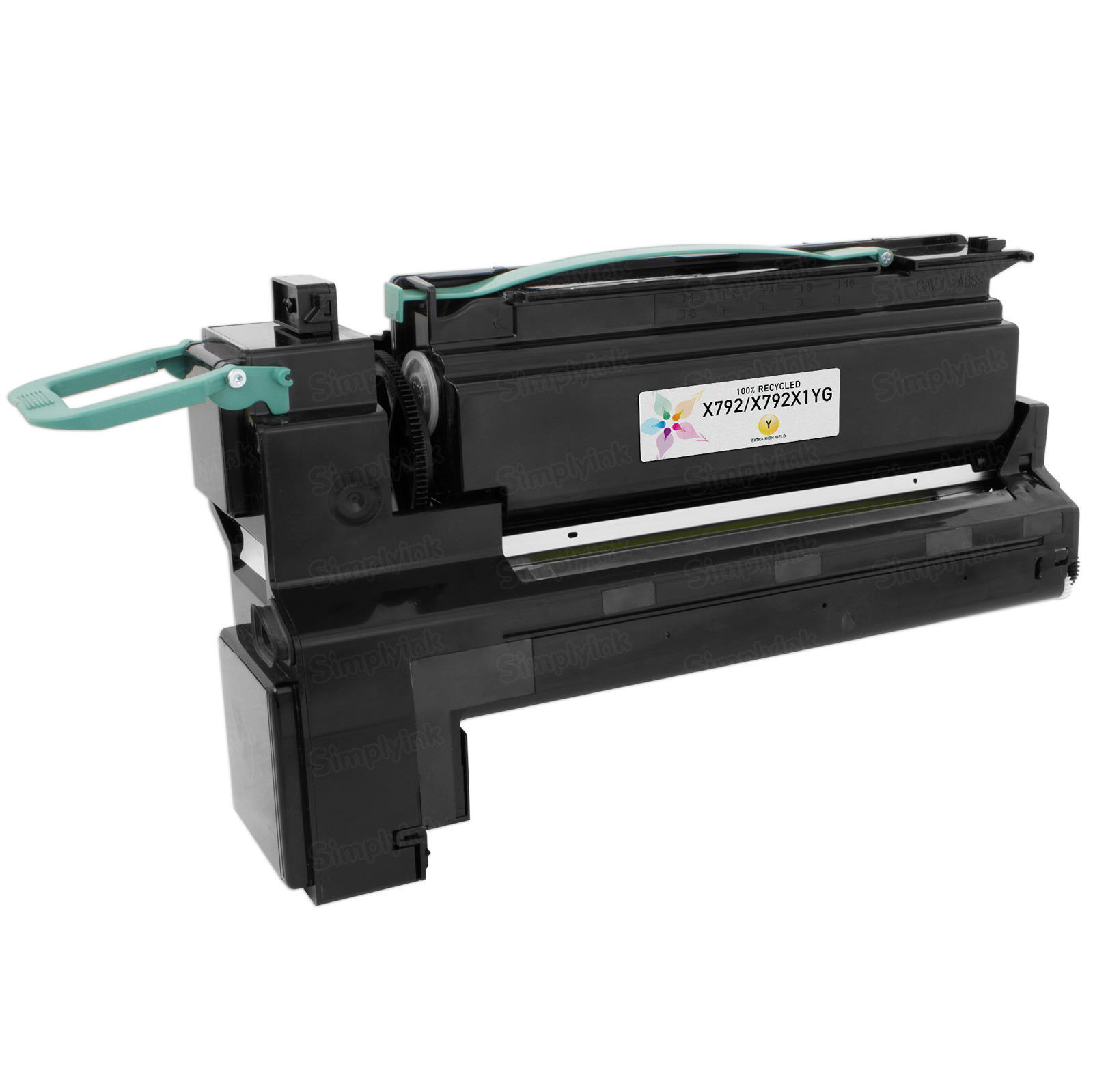 Lexmark Remanufactured Extra HY Yellow Toner, X792X1YG (X792)