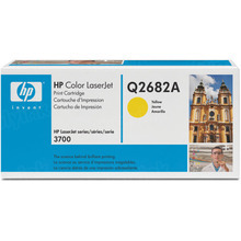 HP 311A (Q2682A) Yellow Original Toner Cartridge in Retail Packaging