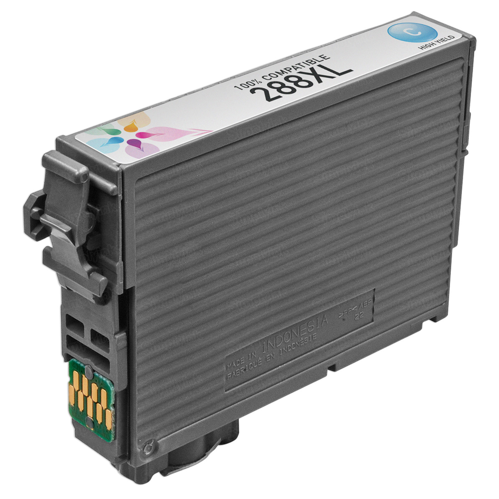 Epson Remanufactured T288XL220 HY Cyan Ink