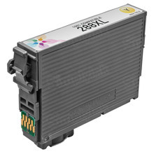 Remanufactured Epson T288XL420 (288XL) High Yield Yellow Ink Cartridges