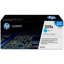 HP 309A (Q2671A) Cyan Original Toner Cartridge in Retail Packaging