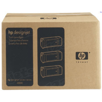 HP 90 Black Original Ink Cartridge 3PK C5095A