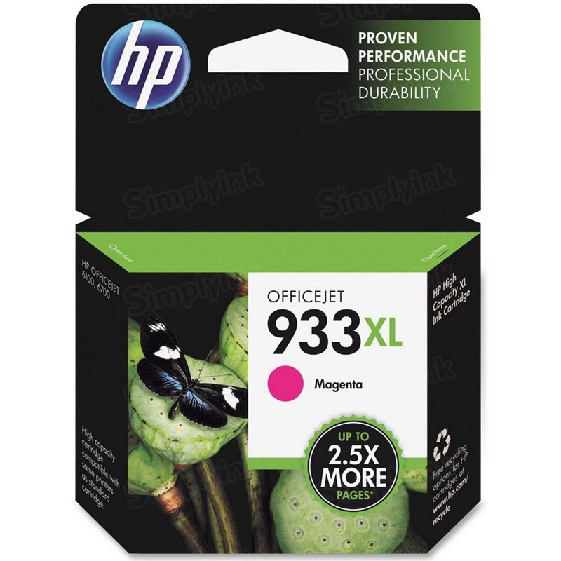 HP 933XL Magenta Original Ink Cartridge CN055AN