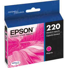 OEM Epson T220320 (220) DURABrite Ultra Magenta Ink Cartridge