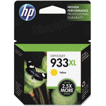 Original HP 933XL Yellow Ink Cartridge in Retail Packaging (CN056AN) High-Yield