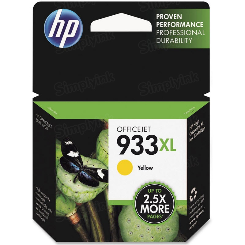 HP 933XL Yellow Original Ink Cartridge CN056AN
