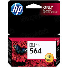 Genuine HP 564 Photo Black Ink Cartridge in Retail Packaging (CB317WN)
