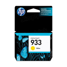 Original HP 933 Yellow Ink Cartridge in Retail Packaging (CN060AN)