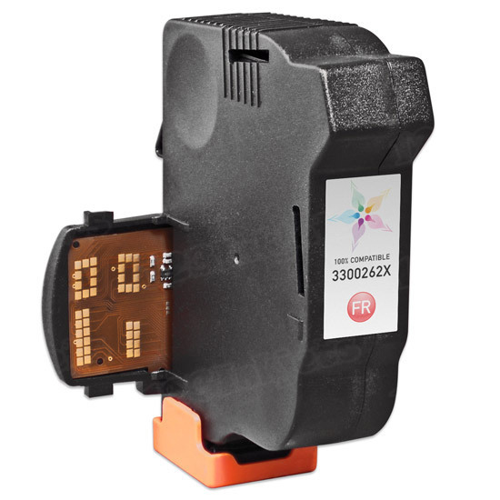 Remanufactured Replacement for Hasler 3300262X Fluorescent Red Ink