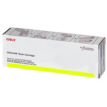 Original Yellow Laser Toner Cartridge (10k) for Okidata 45396221 - MPS3537 or MPS4242 10K Page Yield