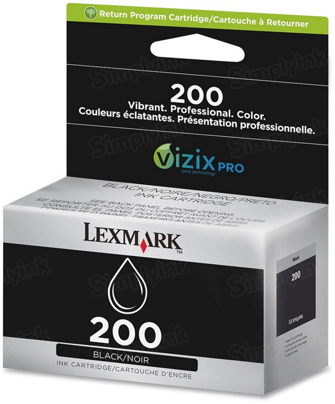 Lexmark 200 Black OEM Ink Cartridge (14L0173)