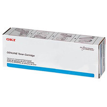 Original Cyan Laser Toner Cartridge (10k) for Okidata 45396223 - MPS3537 or MPS4242 10K Page Yield