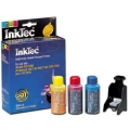 Inkjet Refill Kit for Lexmark 18C2100 (#15A) Color Ink Cartridges