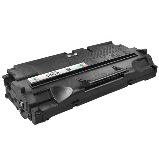 Remanufactured Alternative to the SF-550D3 Black Toner for the Samsung SF-550, SF-555