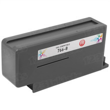 Compatible Pitney Bowes 766-8 Fluorescent Red Ink Cartridges