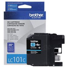 Brother LC101C Cyan OEM Ink Cartridge