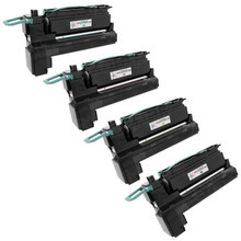 Lexmark Remanufactured Extra High Yield (Black, Cyan, Magenta, Yellow) Laser Toner Cartridge Set of 4, X792