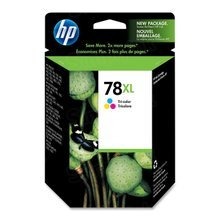 Original HP 78XL Tri-Color Ink Cartridge in Retail Packaging (C6578AN) High-Yield