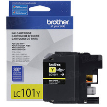 Brother LC101Y Yellow OEM Ink Cartridge