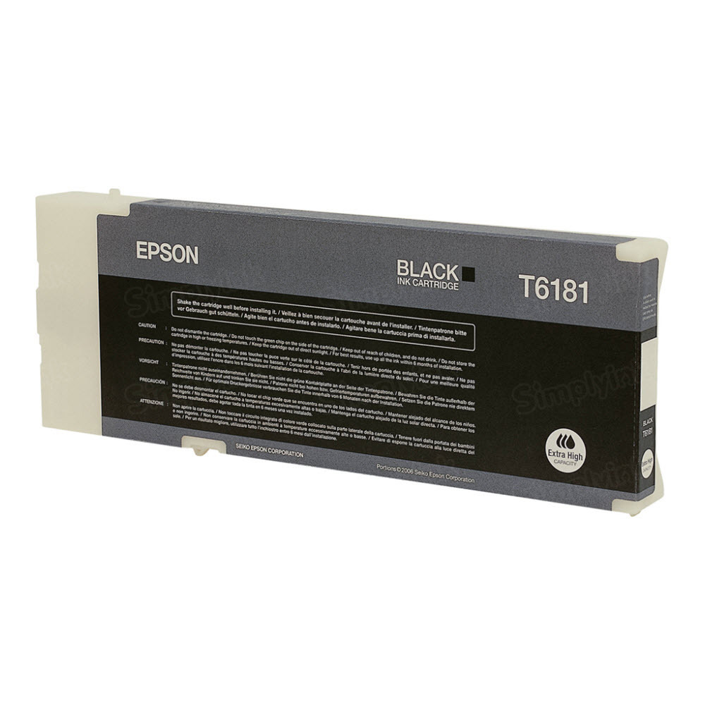Epson T618100 Black OEM Ink Cartridge