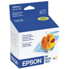 OEM Epson T037020 Color Ink Cartridge