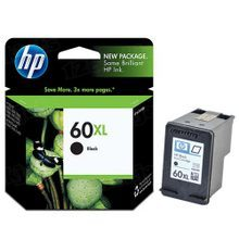 Genuine HP 60XL Black Ink Cartridge in Retail Packaging (CC641WN) High-Yield