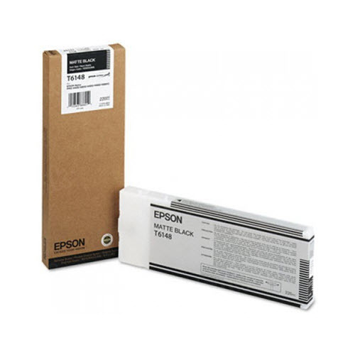 Epson T614800 Matte Black OEM Ink Cartridge
