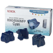 OEM Xerox 108R00723 / 108R723 Cyan Solid Ink 3-Pack