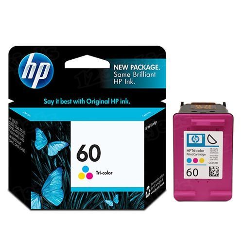 HP 60 Tri-Color Original Ink Cartridge CC643WN