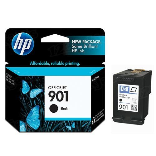 HP 901 Black Original Ink Cartridge CC653AN